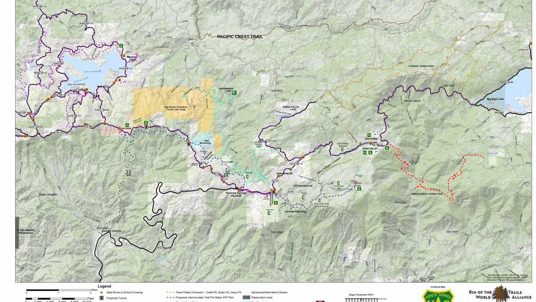 Intermountain Trail Conceptual Map