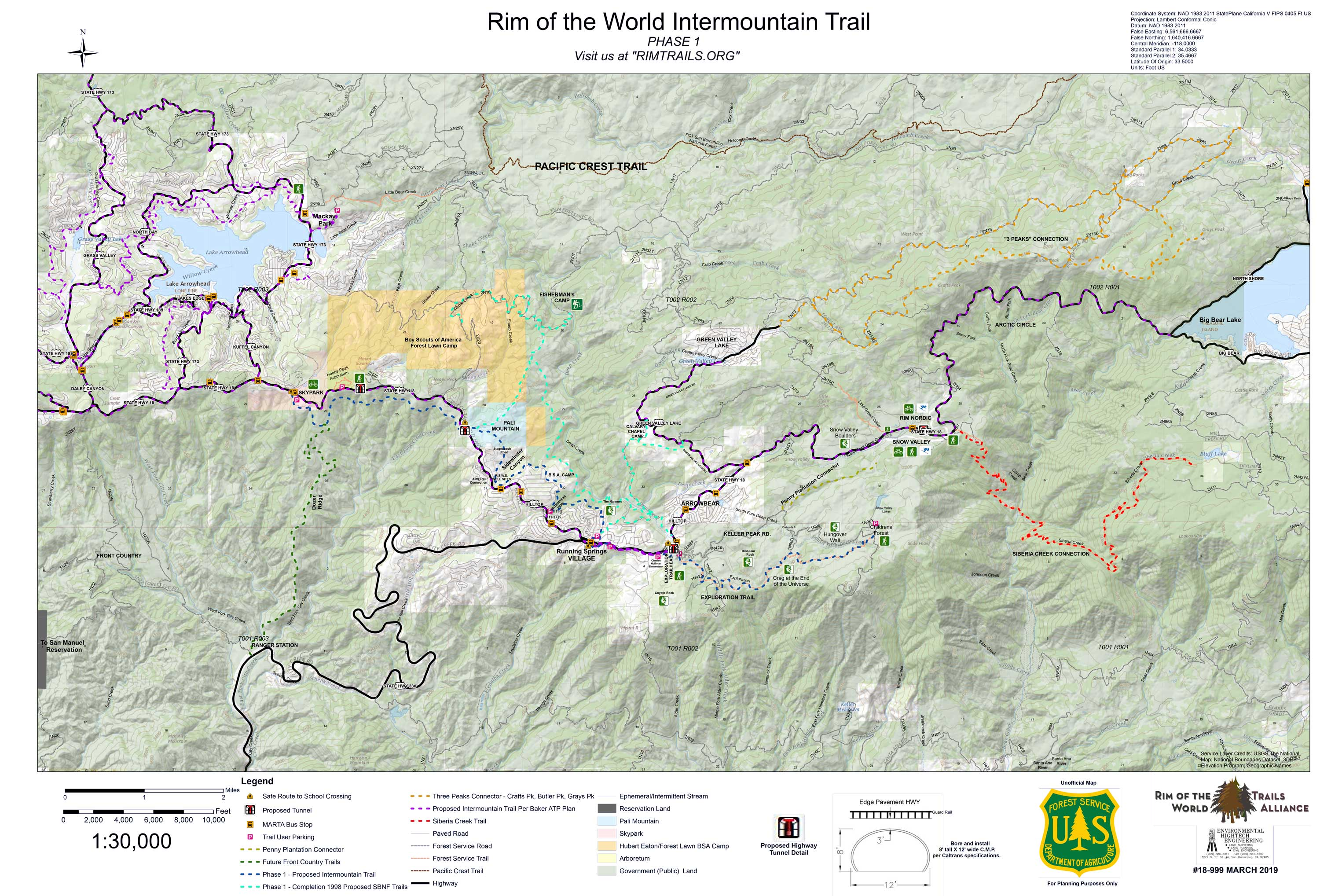 ROTW Intermountain Trail Map